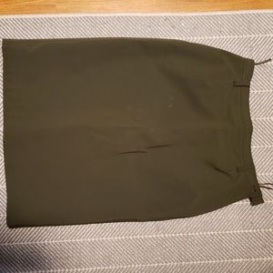 Prada Skirts - Prada olive green pencil skirt sz 44/ 10 USA
